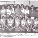 MONDONI 1969 Corona allievi basket