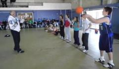 Giochiamo a Minibasket con il corpo