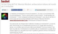 Il sito Sportando.com lancia il mio blog