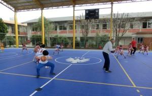 Mondoni esercizi minibasket 5-6 anni
