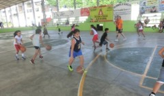 Conosciamo lo spazio giocando a minibasket