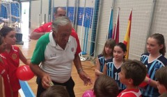 I giochi minibasket a 10-11 anni al Clinic di Grimaud
