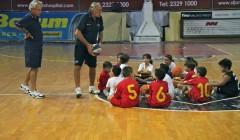 Giochiamo a Minibasket a 11 anni