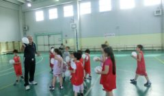 Giochiamo a minibasket a 5-6 anni -clinic Milazzo
