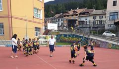 Esercizi basket e minibasket al camp di Folgaria 2018