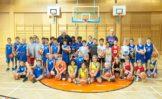 Esercizi minibasket per 9-10-11 anni al Clinic di Vienna