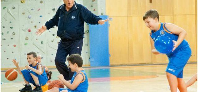 Esercizi minibasket per 11-12 anni al Clinic di Vienna