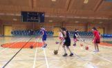 Esercizi minibasket per 10-11 anni al Clinic di Vienna