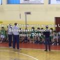 come allenare squadra under 13 minibasket sansebasket cremona v1/2